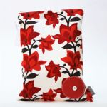 BABY by Danish - Red Bloom Wet Bag